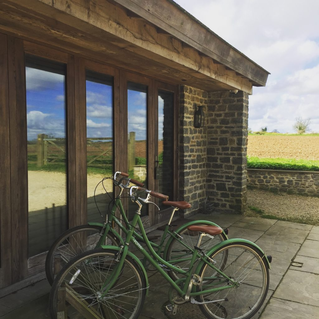 Walled Garden Room Bikes, Babington House